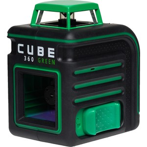 Построитель лазерных плоскостей ADA Cube 360 Green Ultimate Edition (А00470) уровень ada cube 2 360 green ultimate edition