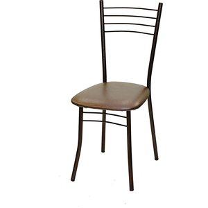 Стул Союз мебель Нефертити каркас антик медь экокожа коричневый перламутр 2 шт стул союз мебель см 8 каркас черный ткань серая 2 шт
