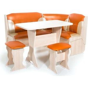Набор мебели для кухни Бител Орхидея - комби (ясень с-120 + с-101, ясень) банкетка бител 1 ясень с 120