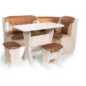 Набор мебели для кухни Бител Орхидея - комби (ясень с-109 + с-101, ясень)