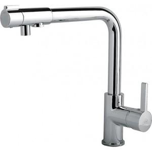Смеситель Timo Hette для кухни с краном питьевой воды, хром (1026/00F chrome)