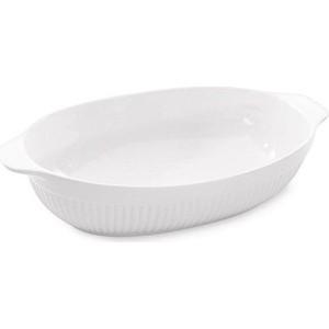 Блюдо для запекания овальное 43x27x9 см BergHOFF Bianco (1691053)