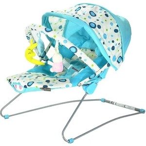 Стульчик-шезлонг Everflo BABY BOUNCER BEBABYBUS UC42 Blue