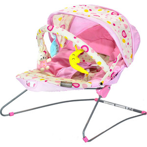 Стульчик-шезлонг Everflo BABY BOUNCER BEBABYBUS UC42 Pink