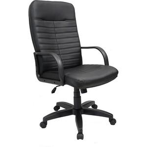 Кресло Союз мебель Орман ТГ пластик экокожа черная
