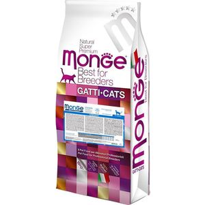Сухой корм Monge Cat Urinary Rich in Chicken с курицей профилактика МКБ для кошек 10кг фото
