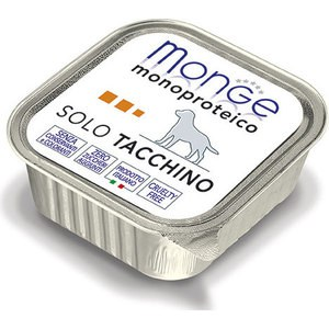 цена на Консервы Monge Dog Monoproteico Solo Pate Turkey паштет из индейки для собак 150г