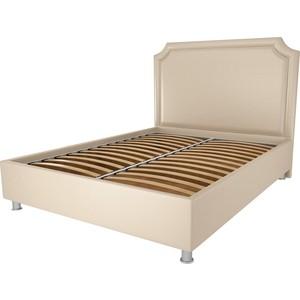 Кровать OrthoSleep Федерика бисквит ортопед. основание 200х200