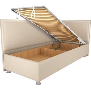 Кровать OrthoSleep Бибионе Лайт механизм и ящик Сонтекс Беж 80х200 фото