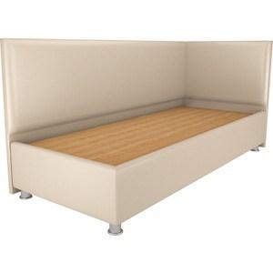 Кровать OrthoSleep Бибионе Лайт жесткое основание Сонтекс Беж 140х200 фото