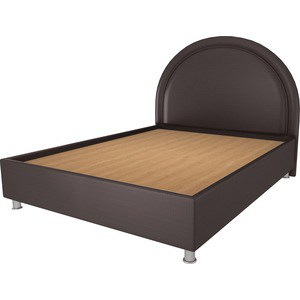 Кровать OrthoSleep Аляска шоколад жесткое основание 80х200