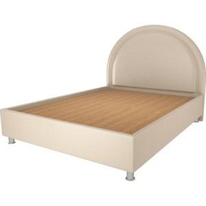Кровать OrthoSleep Аляска бисквит жесткое основание 140х200 кровать orthosleep виктория шоколад бисквит жесткое основание 140х200
