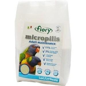 Корм Fiory Micropills Adult Maintenance Lori/Lorikeets для попугаев Лори 800г