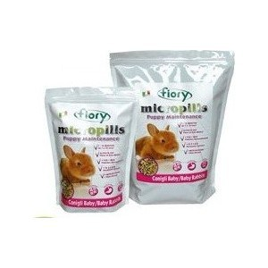 Корм Fiory Micropills Puppy Maintenance Baby Rabbits для крольчат 2кг