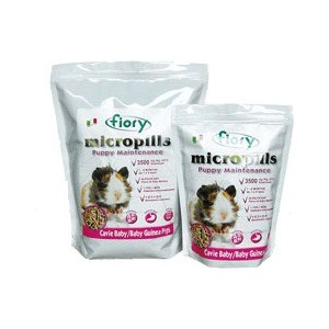 Корм Fiory Micropills Puppy Baby Guinea Pigs для морских свинок 1-6мес 2кг