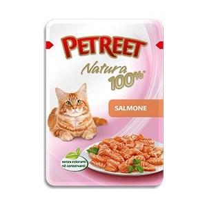 Паучи Petreet Natura Salmon лосось для кошек 85г