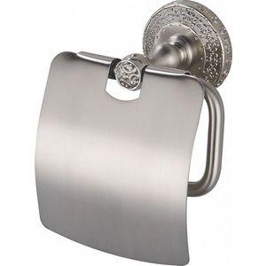 Держатель туалетной бумаги ZorG Antic с крышкой, серебро (AZR 08 SL)