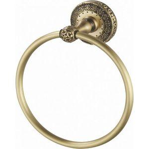 Полотенцедержатель ZorG Antic кольцо, бронза (AZR 11 BR)