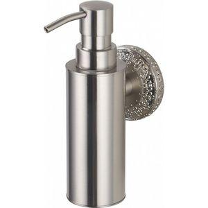 Дозатор для жидкого мыла ZorG Antic серебро (AZR 16 SL)
