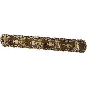 Планка с 5 крючками ZorG Antic бронза (AZR 18 BR) крючок двойной zorg antic бронза azr 02 br