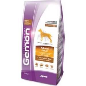 Сухой корм Gemon Dog Adult Maxi with Chicken and Rice с курицей и рисом для взрослых собак крупных пород 15кг