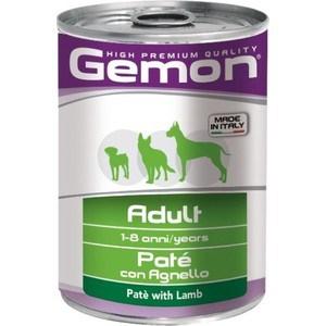Фото - Консервы Gemon Dog Adult Pate with Lamb с ягненком паштет для собак 400г добавки