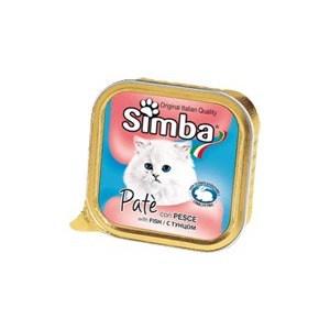Фото - Консервы Simba Petfood Cat Pate with Fish с рыбой паштет для кошек 100г консервы leonardo quality selection rich in fish c рыбой для кошек 400г 56209 56206
