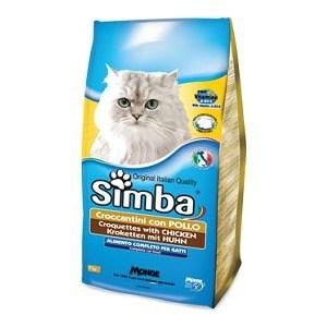 Фото - Сухой корм Simba Petfood Cat Croquettes with Chicken с курицей для кошек 2кг добавки