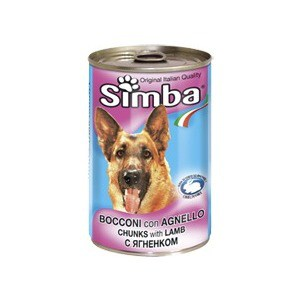 Консервы Simba Petfood Dog Chunks with Lamb с ягненком кусочки для собак 415г цена