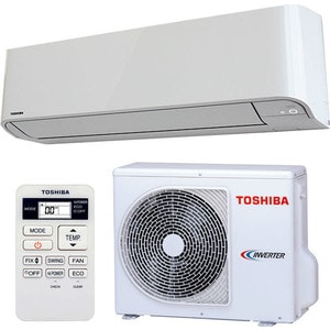 Инверторный кондиционер Toshiba RAS-07BKV-E / RAS-07BAV-E инверторный кондиционер toshiba ras 13n3kv e ras 13n3av e