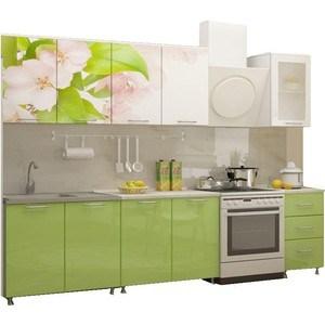 Кухня Миф Яблоневый цвет 2,0 м с фотопечатью МДФ