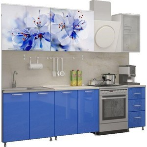 Кухня Миф Лара 2,0 м с фотопечатью МДФ