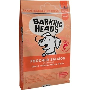Сухой корм BARKING HEADS Adult Dog Fusspot For the Choosy Diner with Salmon&Potato с лососем и картофелем суета вокруг миски для собак 12кг (0087/18113)