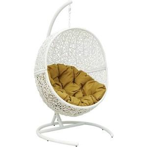 Кресло подвесное EcoDesign Lunar White Y0068KD (W) кресло подвесное экодизайн lunar black