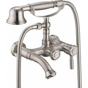 Смеситель для ванны ZorG Antic серебро (A 200W-SL)