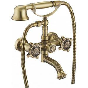 Смеситель для ванны ZorG Antic бронза (A 2001W-BR)