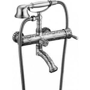 Смеситель для ванны ZorG Antic серебро (A 100W-SL)