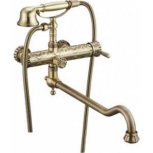 Смеситель для ванны ZorG Antic бронза (A 101WDN-BR)