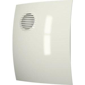 Вентилятор DiCiTi осевой вытяжной D 100 декоративный (PARUS 4 Ivory) накладной вентилятор эра parus 4 02
