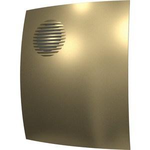 Вентилятор DiCiTi осевой вытяжной с обратным клапаном D 100 декоративный (PARUS 4C champagne) накладной вентилятор эра parus 4 02
