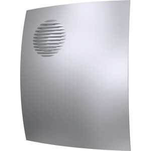Вентилятор DiCiTi осевой вытяжной с обратным клапаном D 100 декоративный (PARUS 4C gray metal)