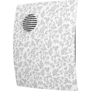 Вентилятор DiCiTi осевой вытяжной с обратным клапаном D 100 декоративный (PARUS 4C white design) накладной вентилятор эра parus 4 02