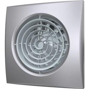 Вентилятор DiCiTi осевой вытяжной с обратным клапаном D 100 декоративный (AURA 4C gray metal)