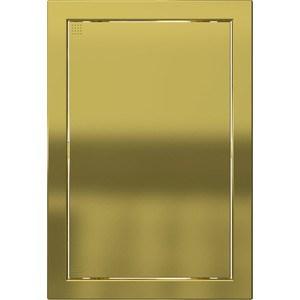 Люк-дверца EVECS ревизионная 218х318 с фланцем 196х296 ABS декоративный (Л2030 Gold)