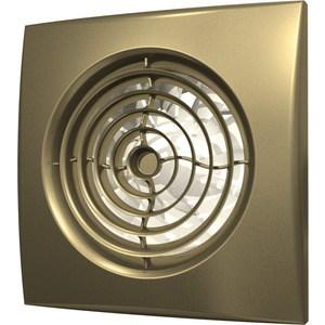 Вентилятор DiCiTi осевой вытяжной с обратным клапаном D 125 декоративный (AURA 5C champagne)
