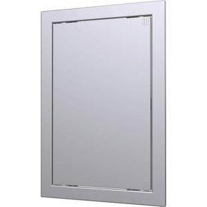 Люк-дверца EVECS ревизионная 218х418 с фланцем 196х396 ABS декоративный (Л2040 gray metal)