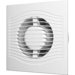 Вентилятор DiCiTi осевой вытяж.с контроллером Fusion Logic 1.1 обр.клапан тяг выкл D100 (SLIM 4C MRH-02) вентилятор осевой домовент 100с d100 мм