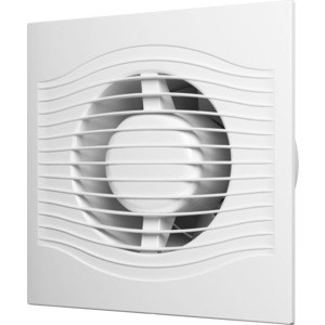 Вентилятор DiCiTi осевой вытяж. мультиопционный с контроллером Fusion Logic 1.0 обр.клапан D125 (SLIM 5C MR)