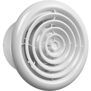 Вентилятор Era осевой с обратн. клапаном круглой решеткой двигателем на ш/подшип D 125 (FLOW 5 C BB)