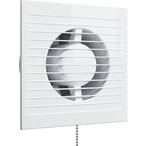 Вентилятор Era осевой с обратным клапаном и тяговым выключателем D 150 (E C-02)